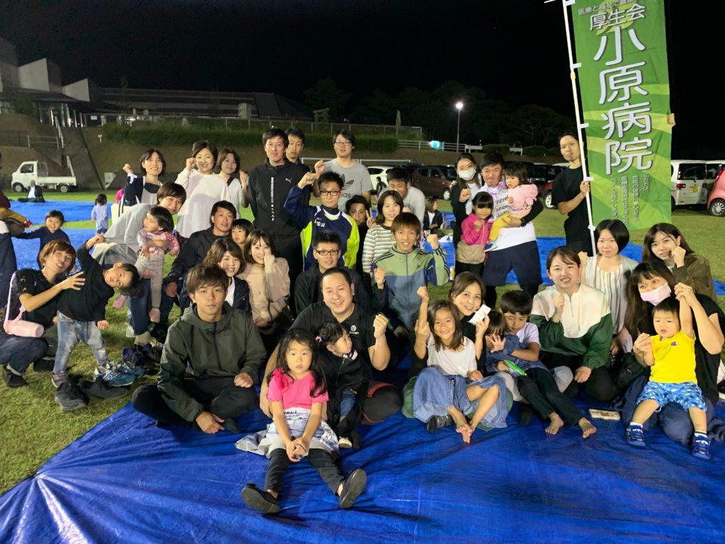 枕楽祭で玉入れ競技&鰹節削り大会に参加してきました。